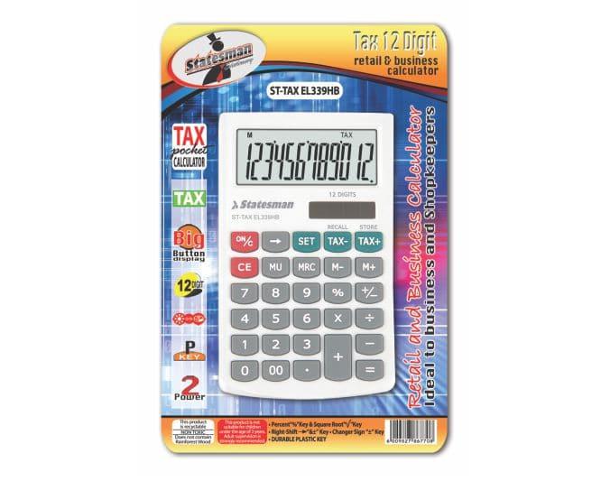 Tax Functional Calculator 12 Digit 1