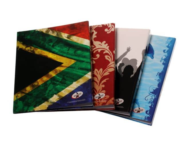 Gloss Ring Binders Funky Colours Assorted 1