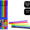 Pouch of 6 High Quality Statesman Fineliner Pens Special Offer