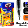 Gel Pens Needle Tip 50 Pack Blue Special Offer