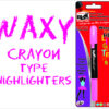 Blak Waxy Crayon Highlighters Green Single Pack