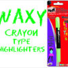 Blak Waxy Crayon Highlighters Pink Single Pack