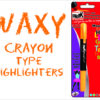 Blak Waxy Crayon Highlighters Yellow Single Pack