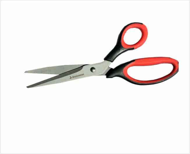 Medium Blak Titanium Plated Scissors 7 1/4 Inch 184mm 2