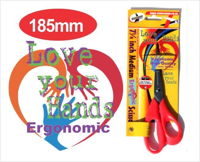 Large Ergonomic-grip Scissors 8.3/4 Inch 1
