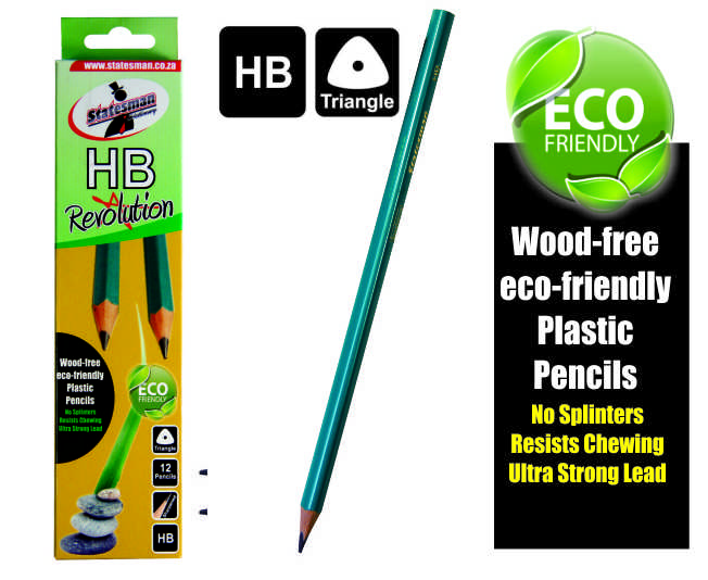 Revolution HB Pencils 3 Pack (no Wood) 1