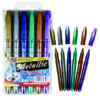 Metallic Markers 6 Pack Assorted Colours