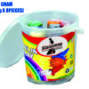Plasticine Modeling Clay Buckets 8 Colour