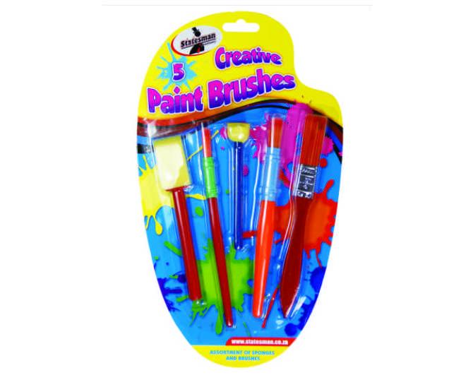 Paint Brush 5pc Creative 1