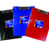 Vinyl Clipboard Folders Assorted Colours