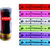15cm Shatterproof Rulers 36 Pack Assorted