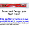 Rulers 30cm Detachable to Insert Photos Etc