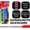50 Red Entrepreneur Crystal Ballpoint Medium Pens in a Box