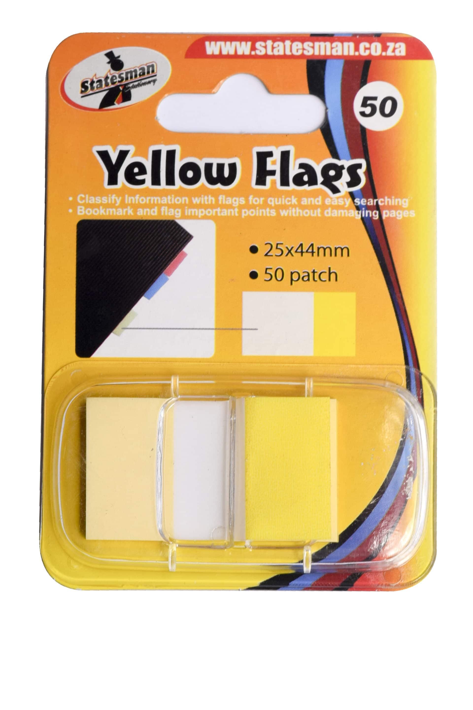 Yellow Flag Statesman 1