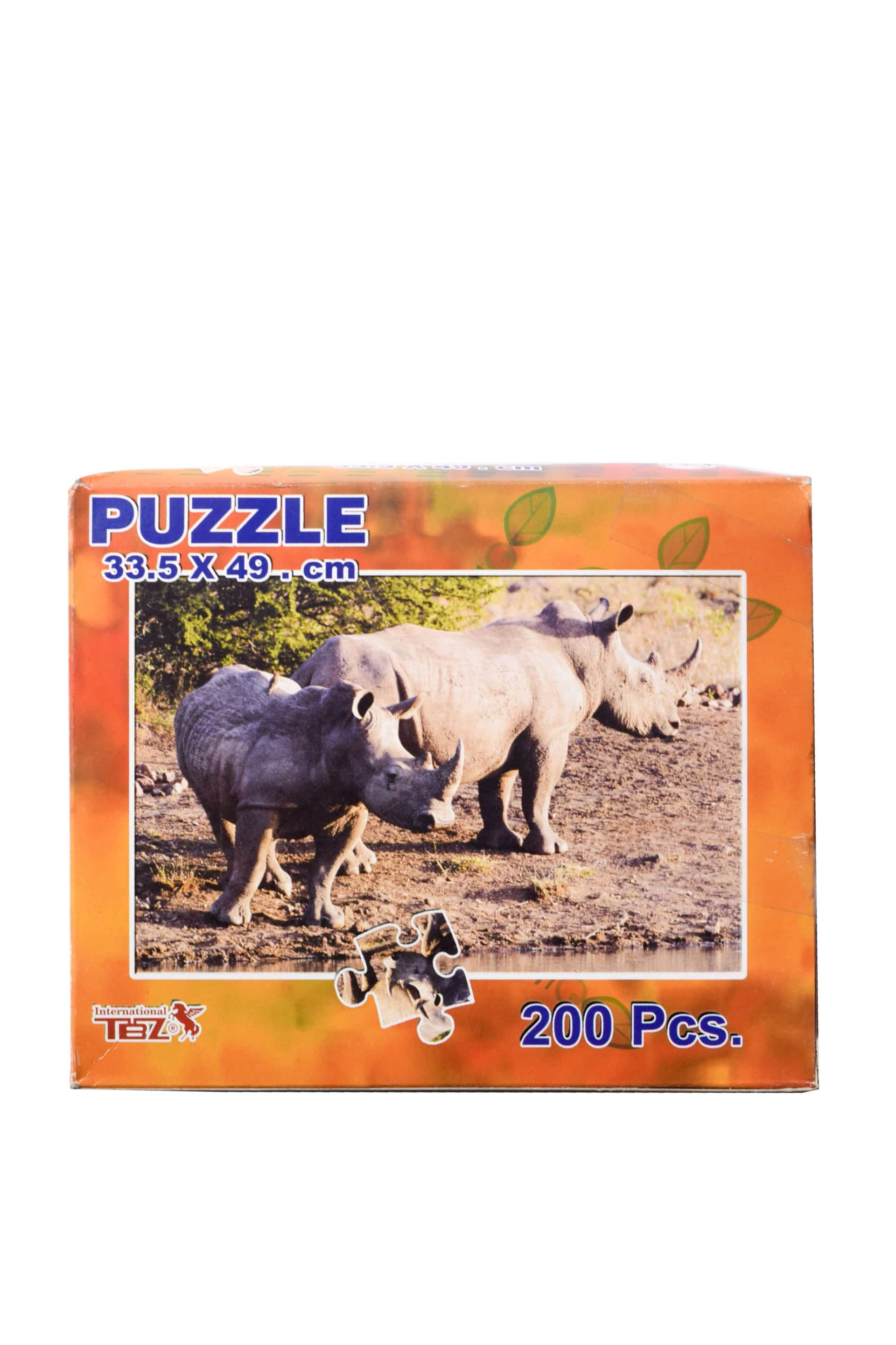 Puzzles 200 Piece Budget Type Cardboard (ideal as a Gift for Charity) 1