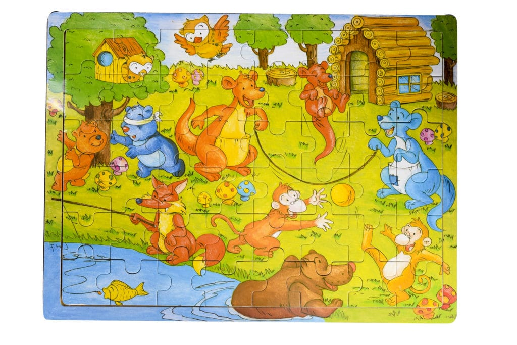 Puzzles 48pc  Cardboard 1