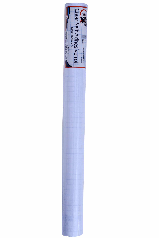 Decifix Roll 45cmx5m  Clear Adhesive Roll 1