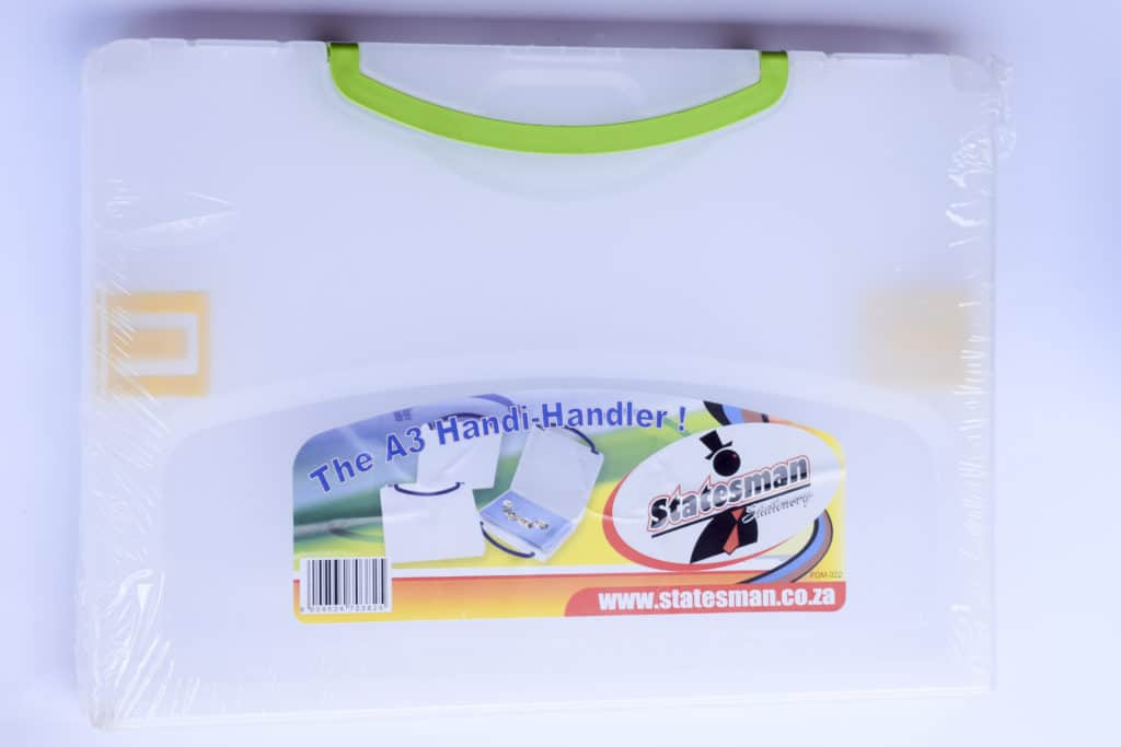 A3 Handy Handle Carry Filing Box 1