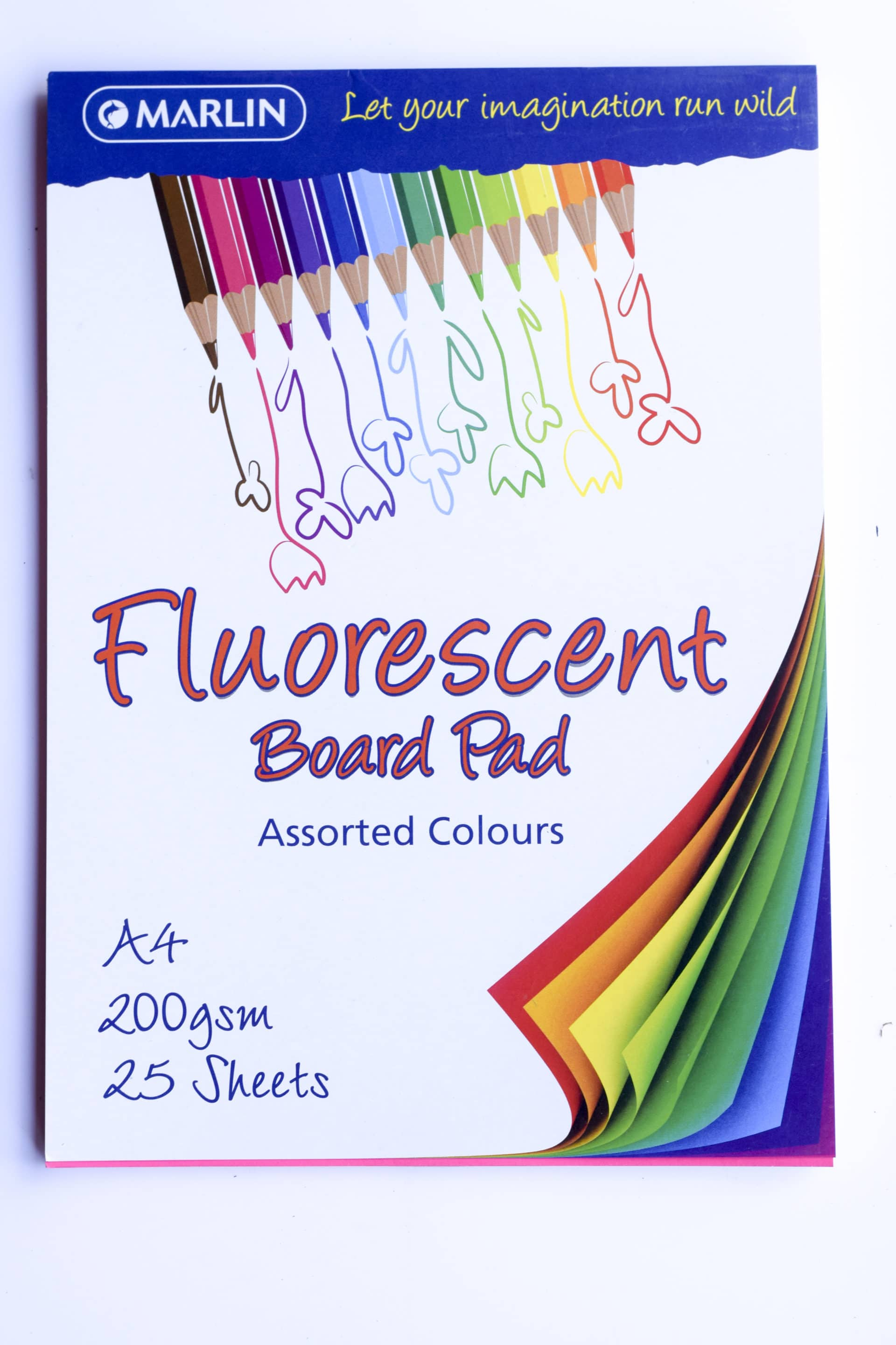 A4 Flourescent 25 Sheet Marlin 200 Gsm 1