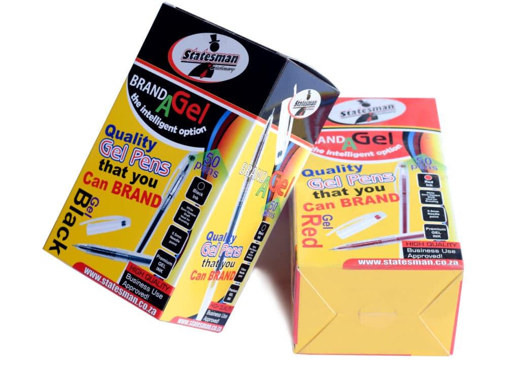 Gel Pens 0.5 Needle Tip Blk 50 Pack Special Offer 1
