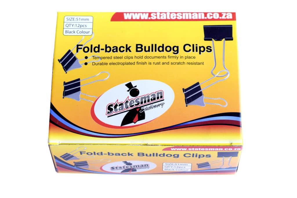 Foldback Clips Statesman 51mm 12's 1
