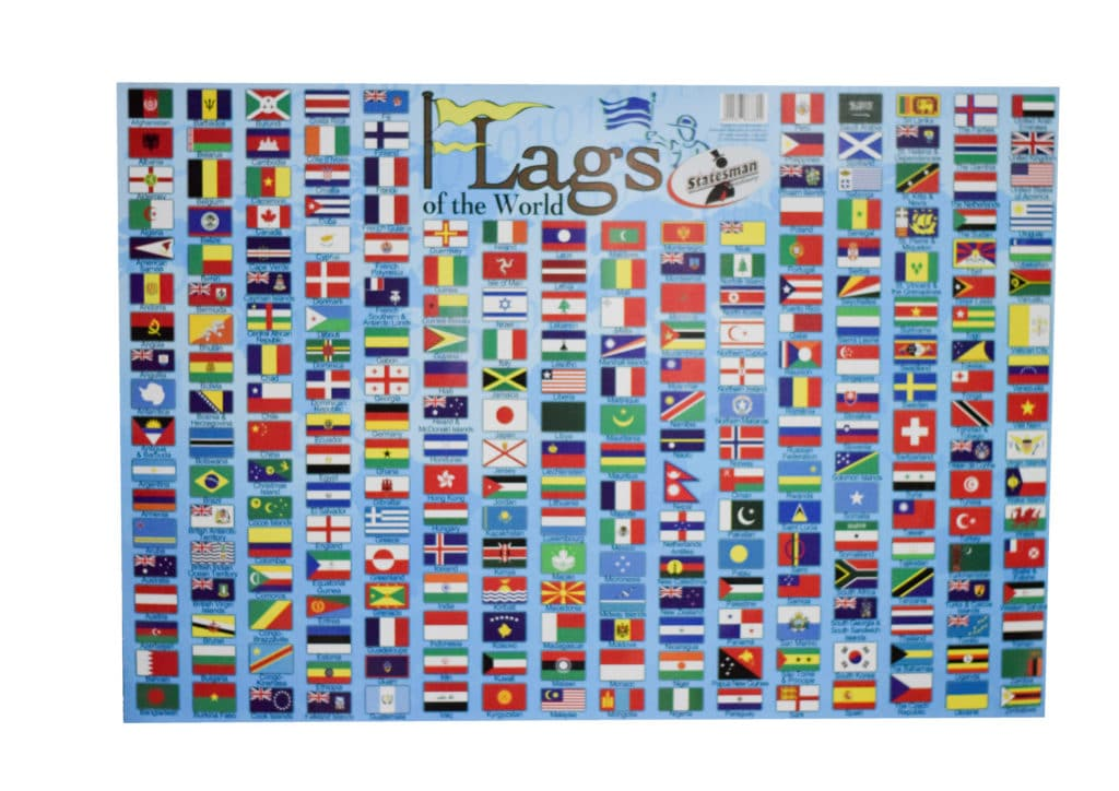 Poster Flags of the World 1