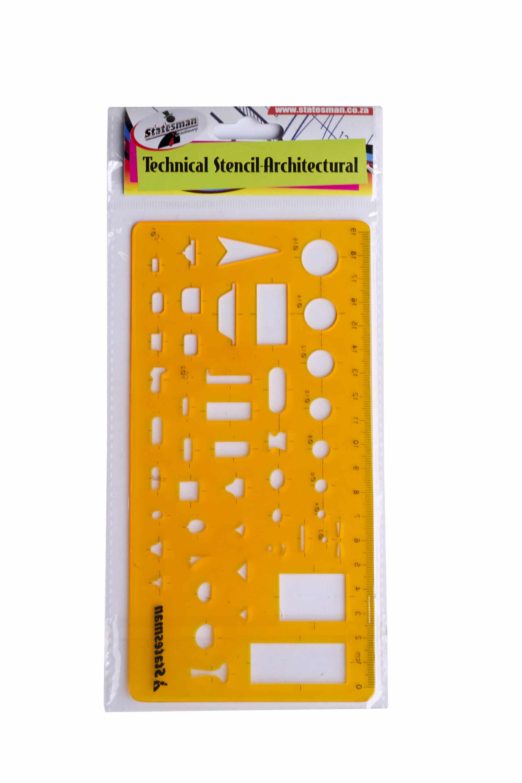 Technical Stencil Architectural 1