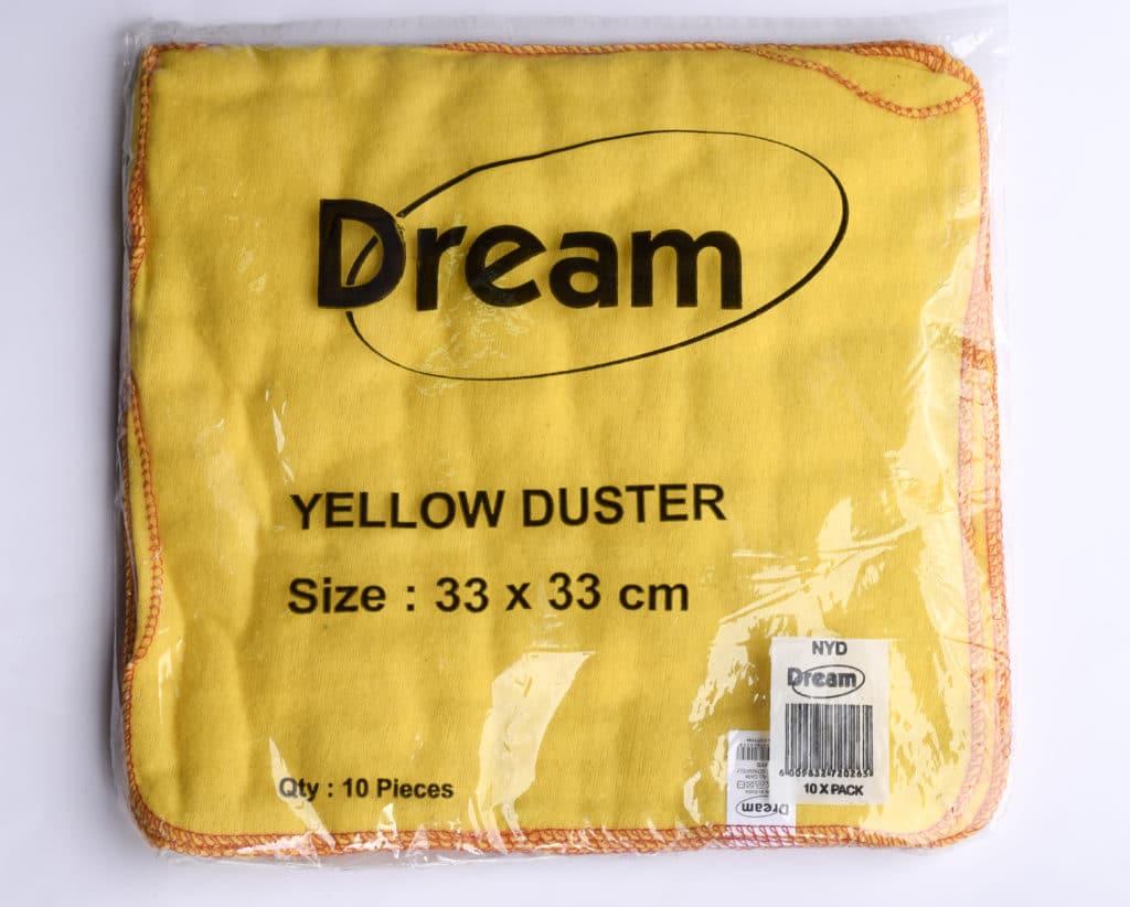 Yellow Dust Cloth 33x33cm 1