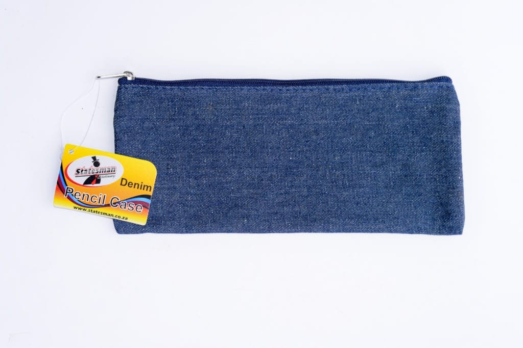 Pencil Case Denim Standard Size 1