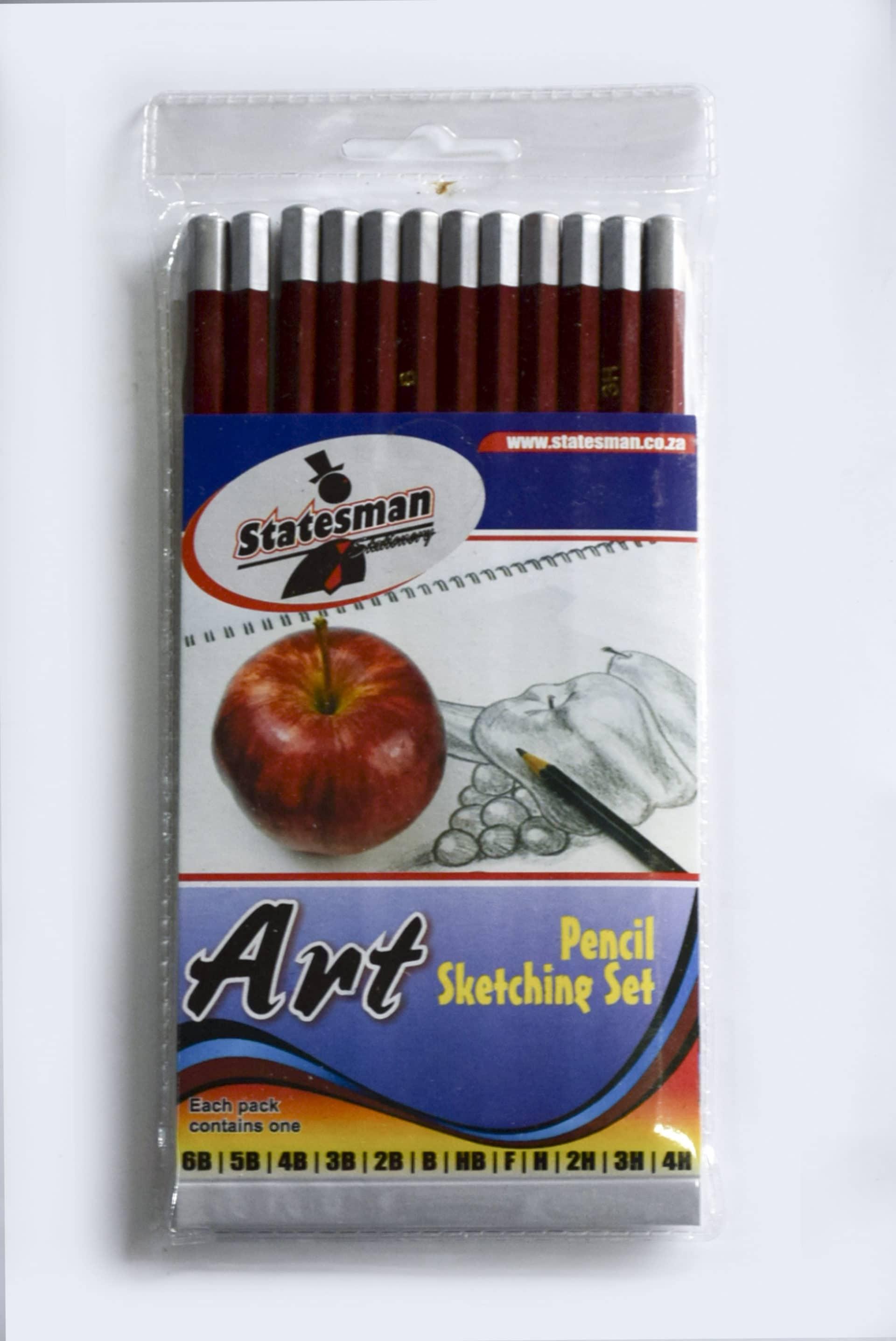 Pencil Sketch Set 12's for Artists 1