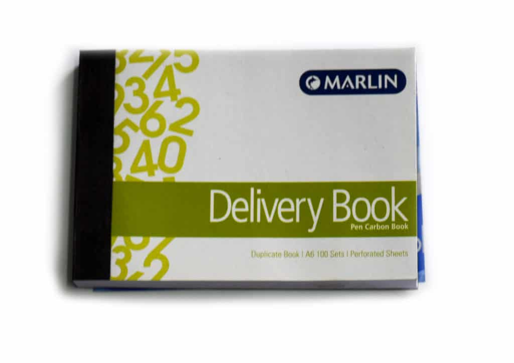 A6 Delivery Book 1
