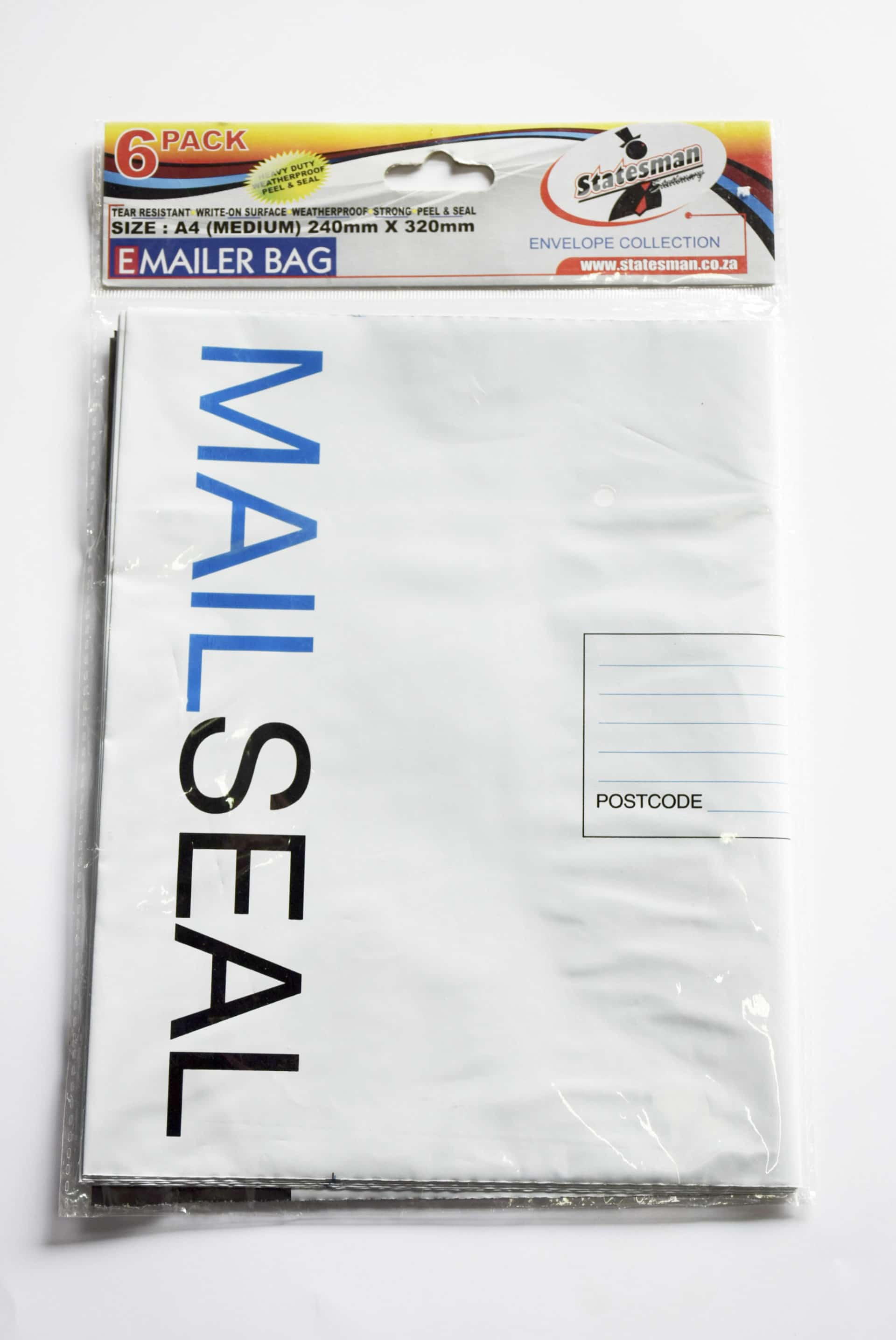 Mailer Bags Pack 6 A4 1