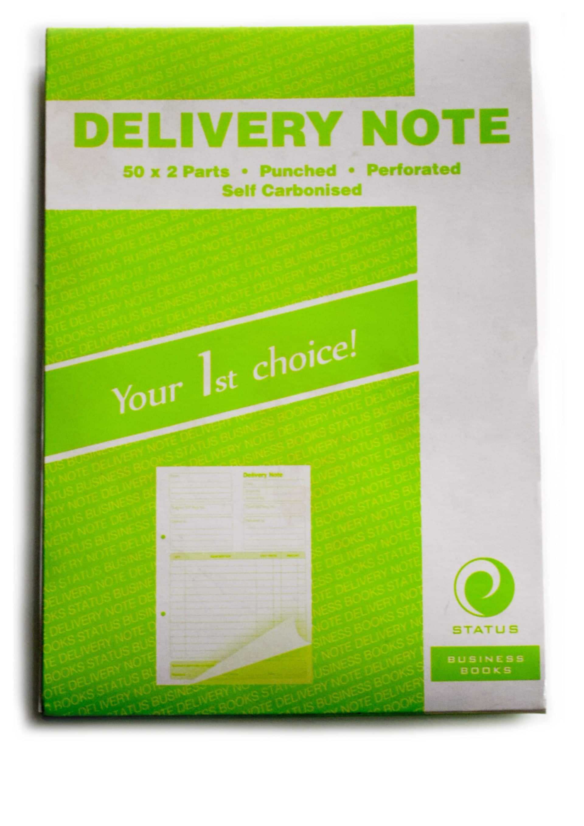 Self Carbon Delivery Note Book 1