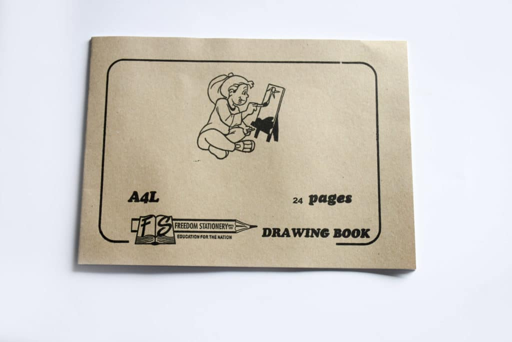 Drawing Book A4l 24pg No Tissue 1