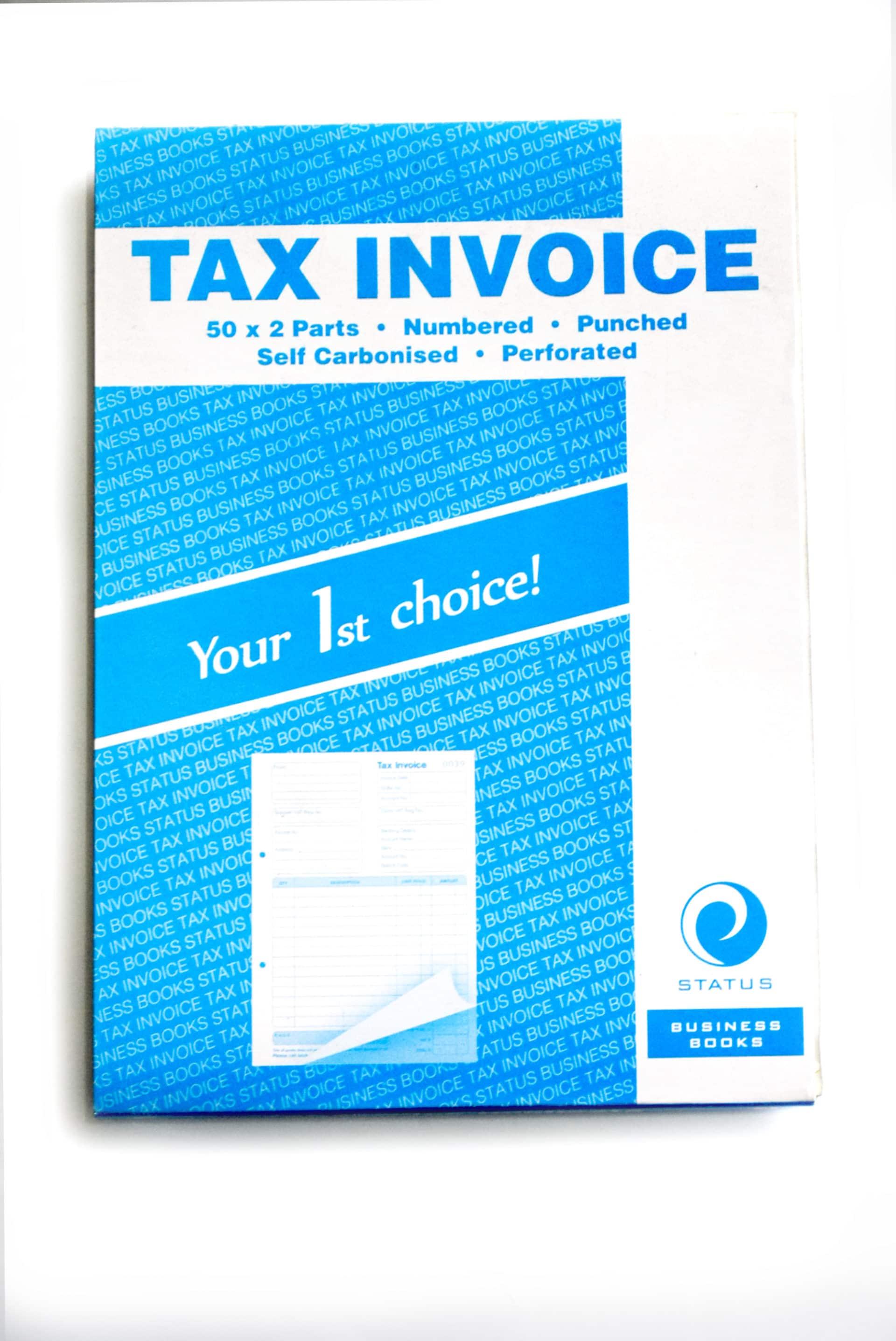Self Carbon Tax Invoice Book 1