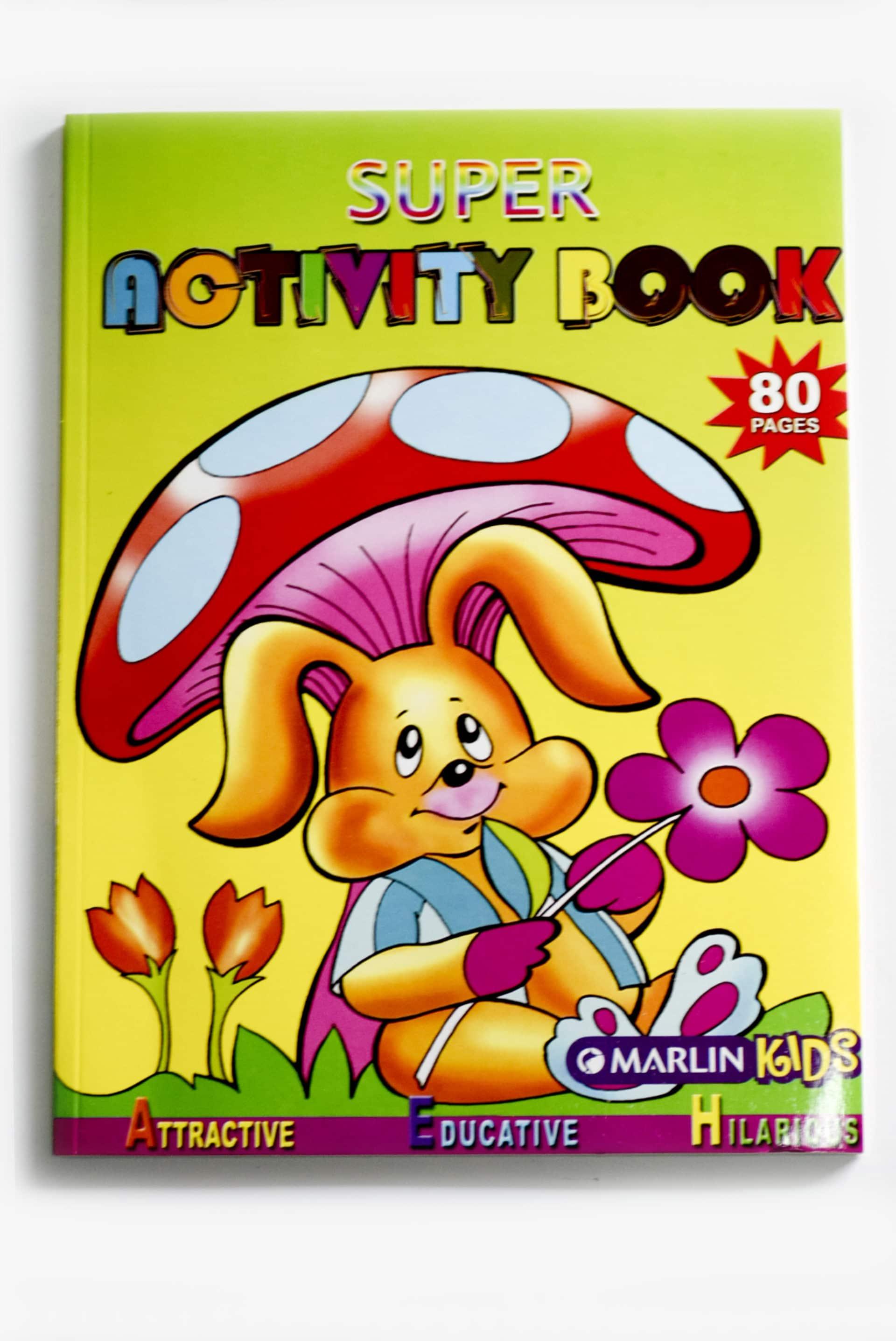 Super  Activity Book  80pg 1