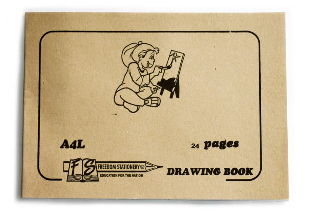 Drawing Book A4l Tissue 24pg 1