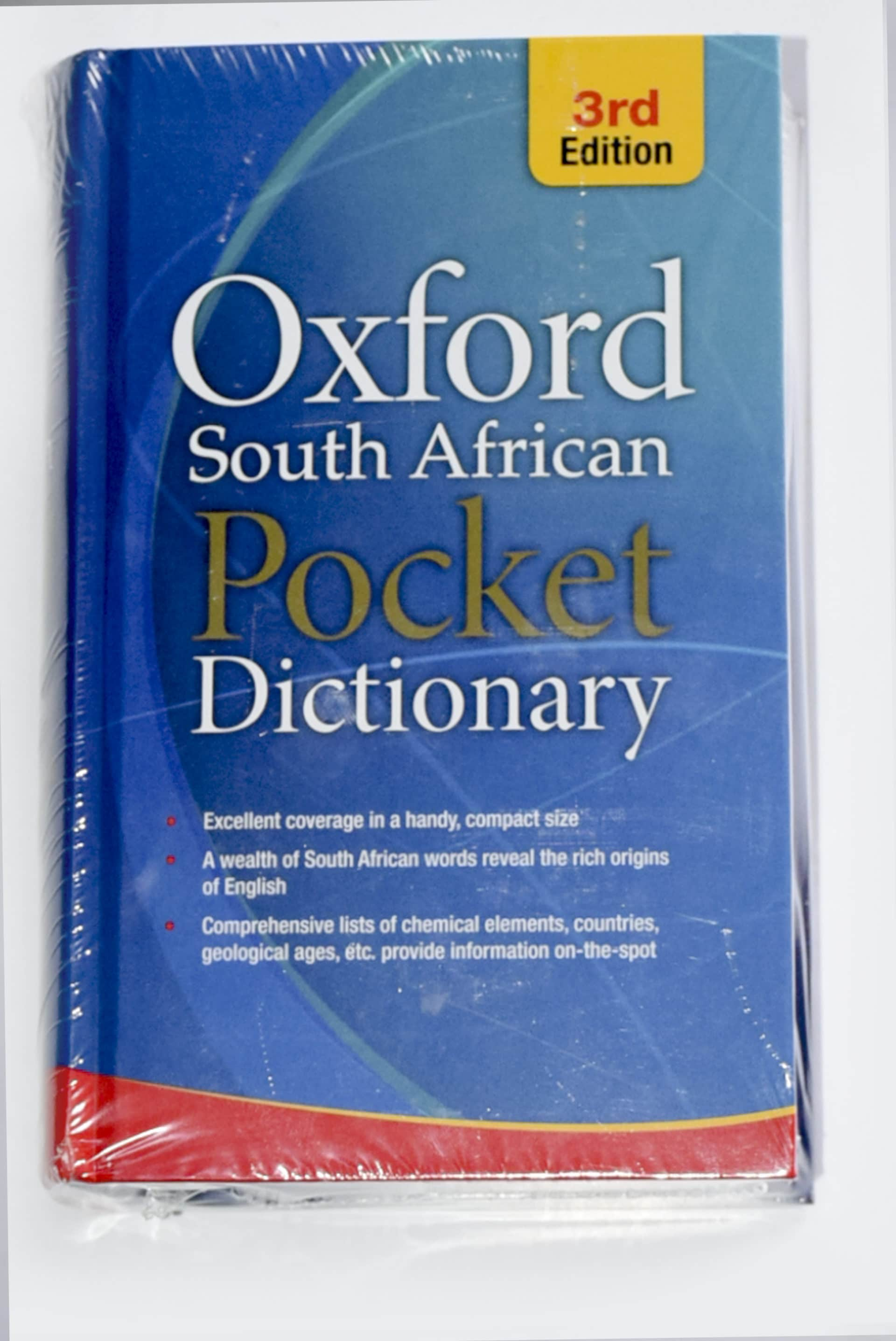 Dictionary Oxford Large Pocket Hard Cover 3rd Edition 1