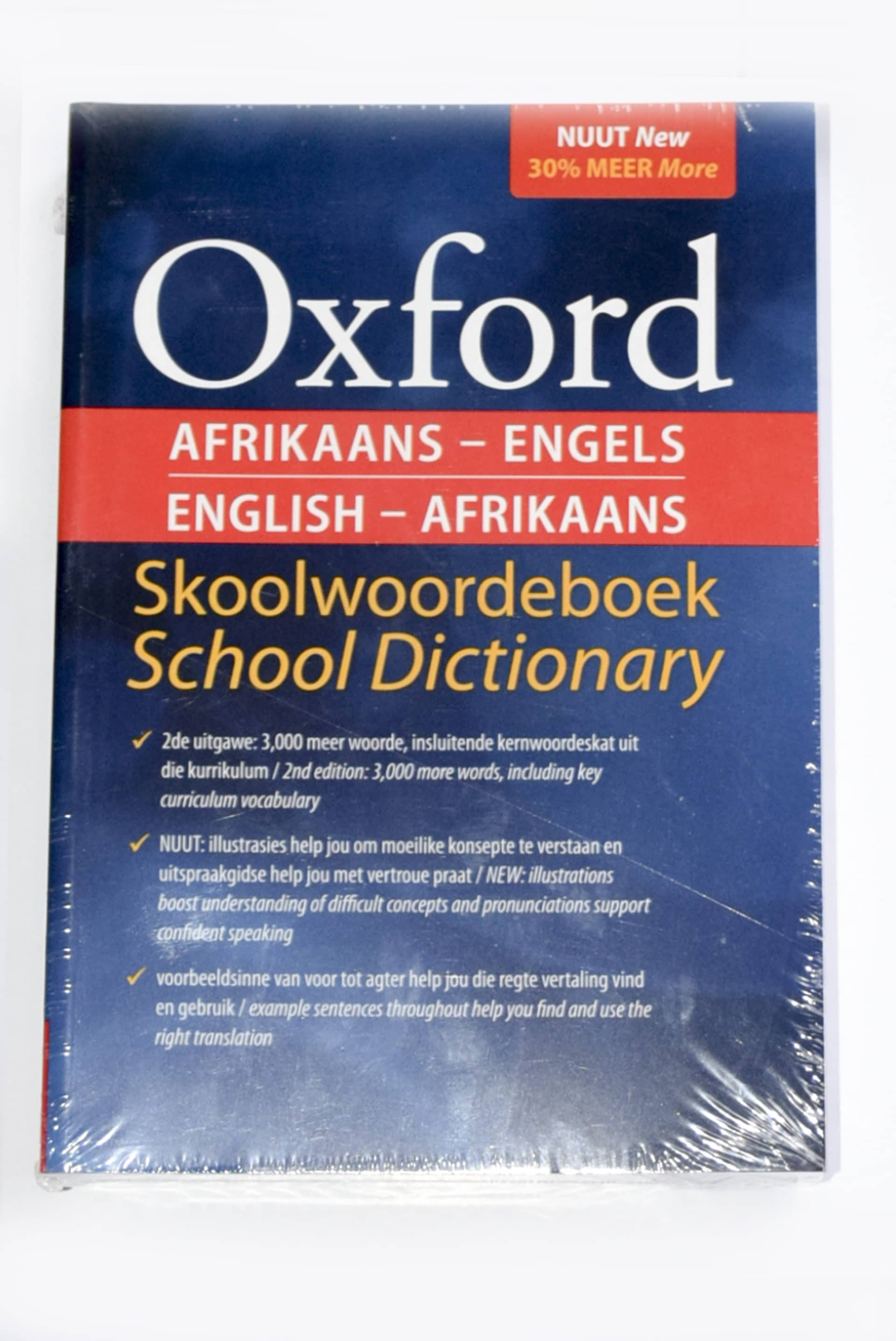 Dictionary Oxford Afr/eng 3rd Edition 1