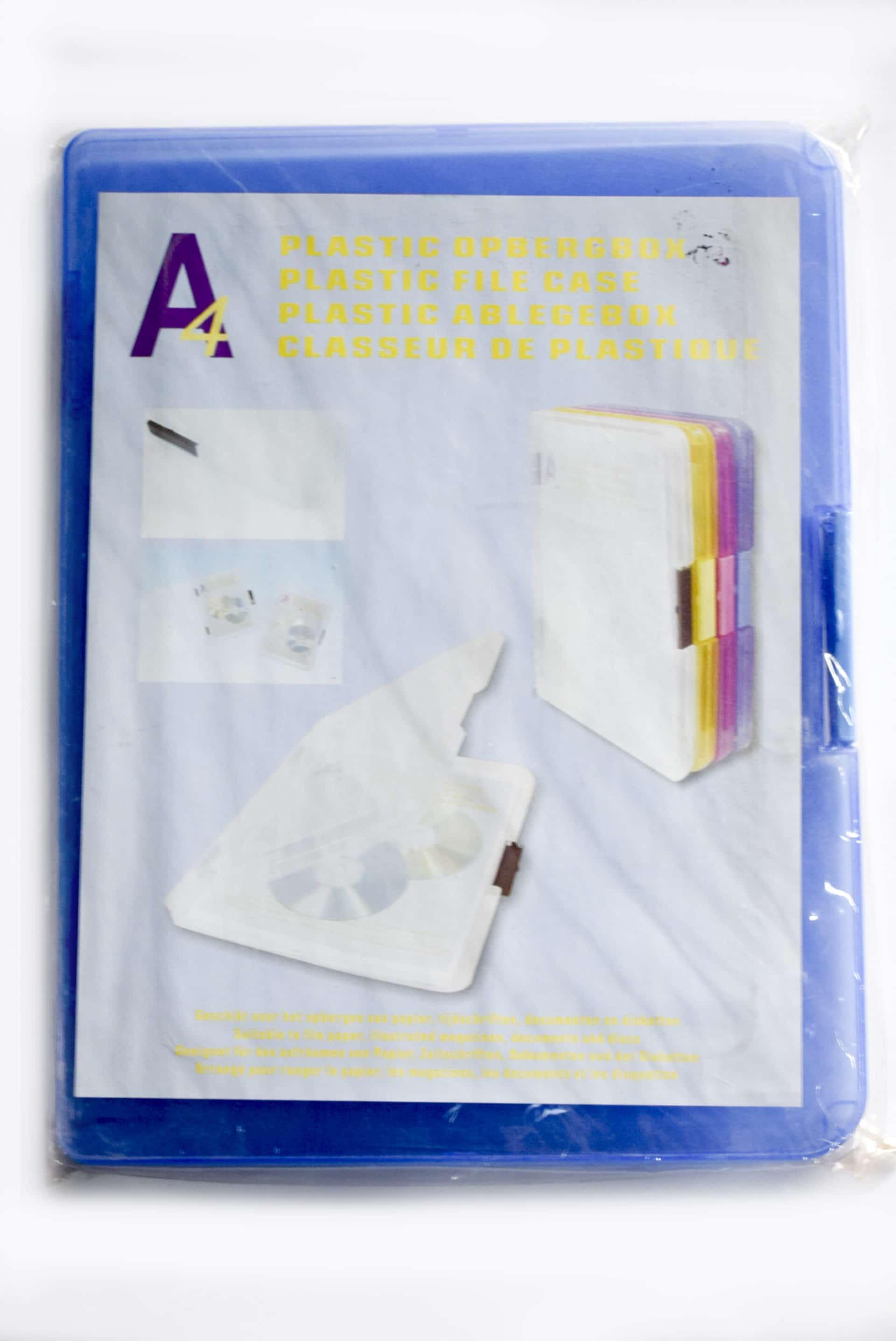 A4 Plastic File Case 1