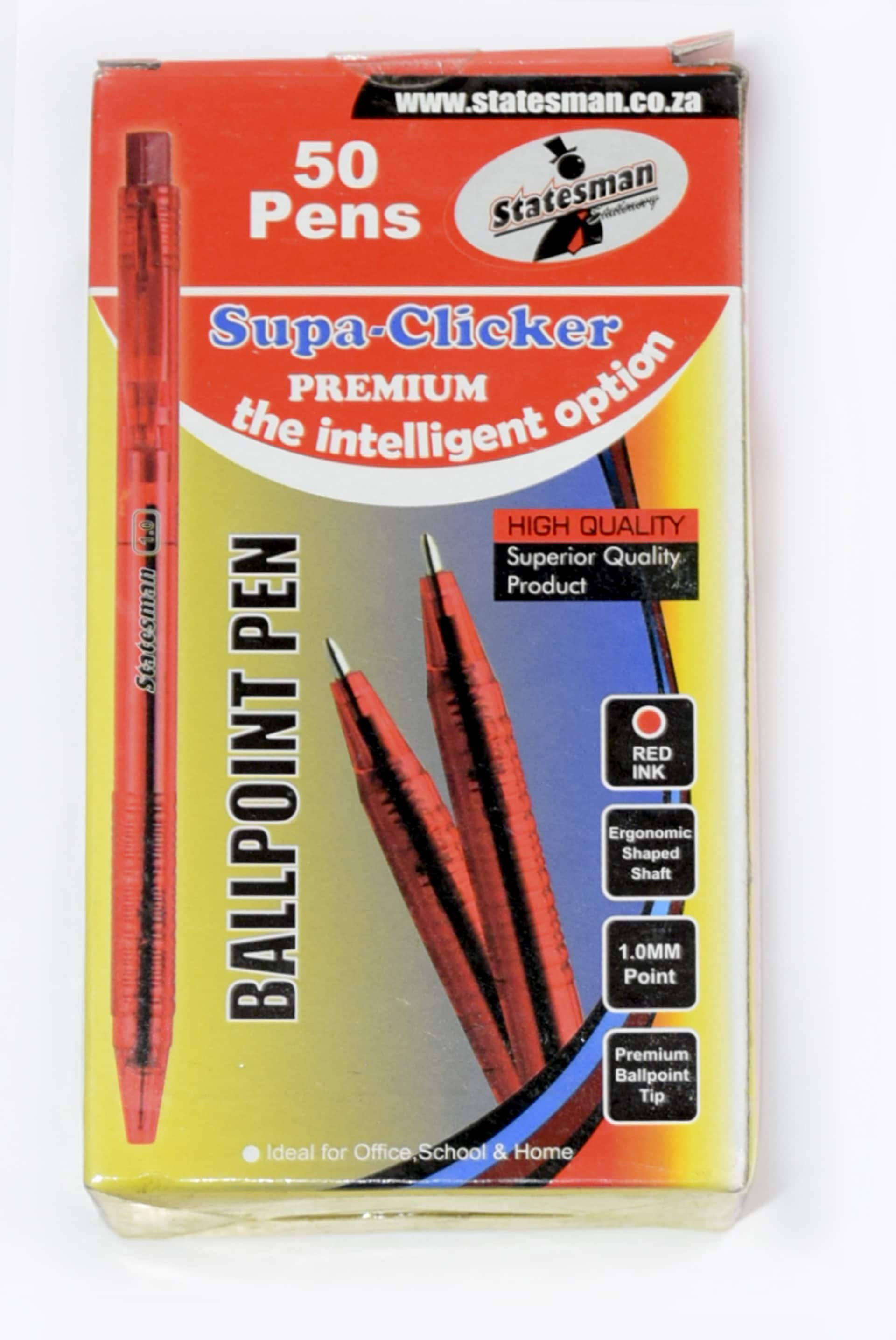 Pens Supa Click Red 50s 1
