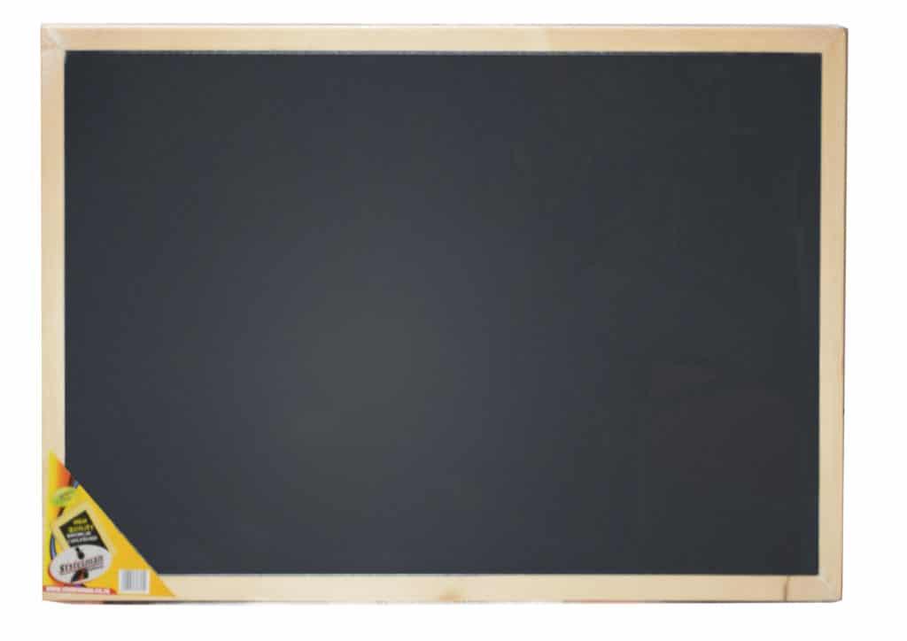 Heavy Duty 60x90 Cm Black Chalkboard 1