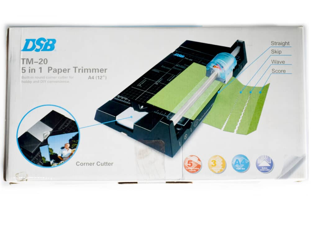 Roller Paper Cutter Dc-20t 1