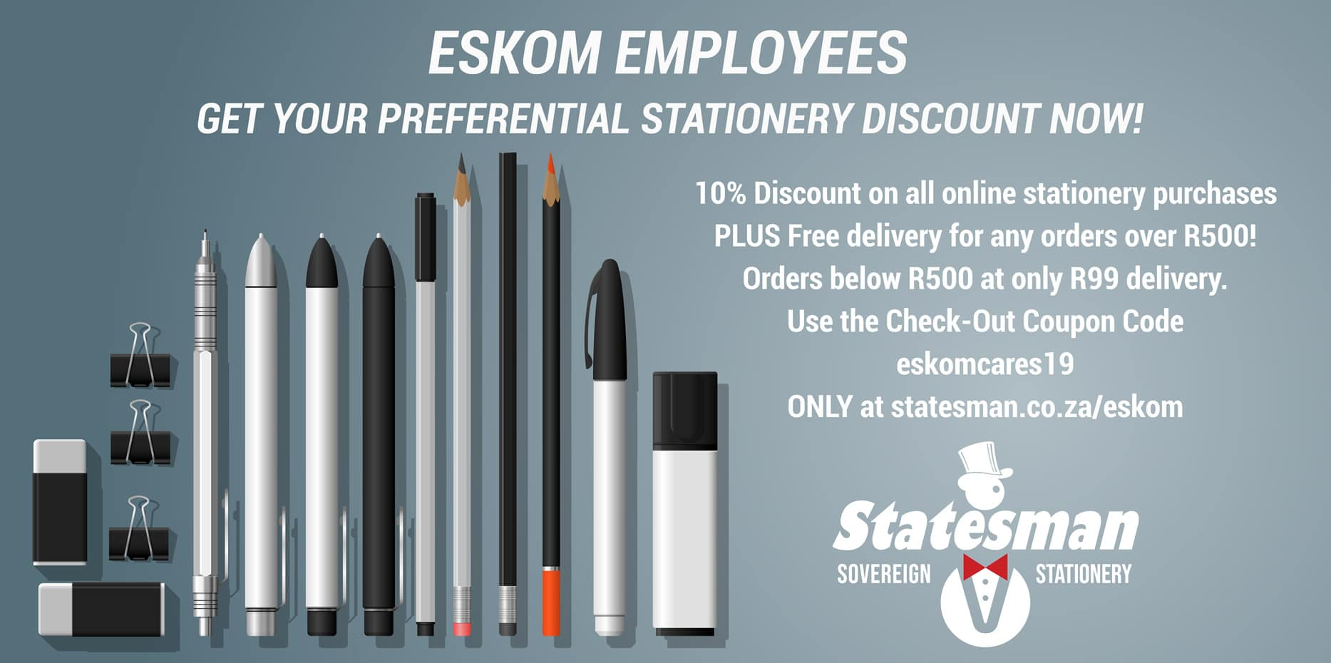 Statesman Stationery Suppliers Johannesburg 1